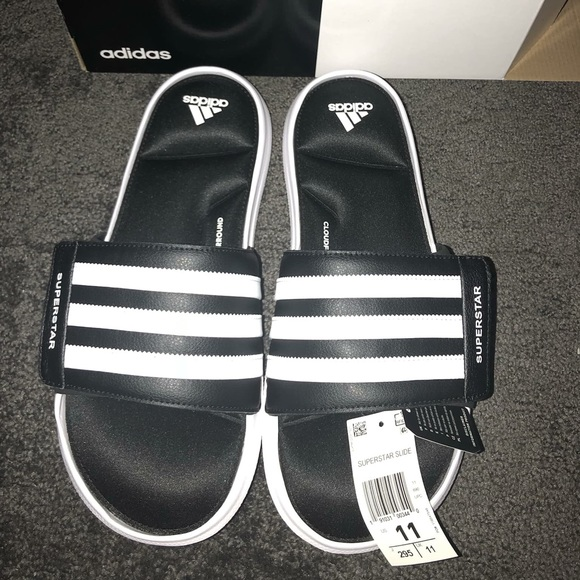 5c3f4418110c Men s Adidas Superstar 5G Slides